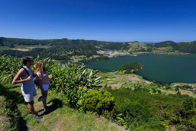 Hiking in Sete Cidades and Ferraria hot spring - full day