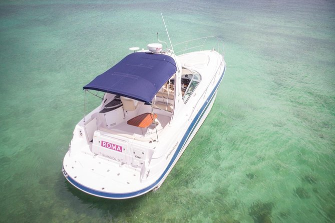 5-Hour Private 37' Yacht 2-Stop Tour w/ Food, Open Bar & Snorkeling photo 8