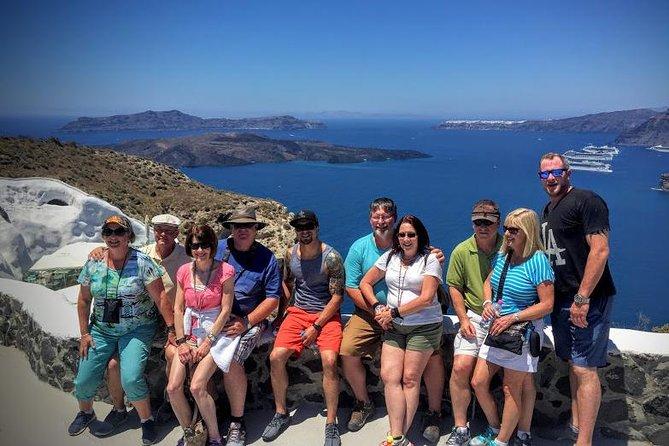 Santorini 5-Hour Island Tour with Wine Tasting