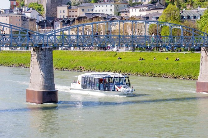 River Cruise & Hellbrunn Palace & world-famous watertrick fountains in Salzburg