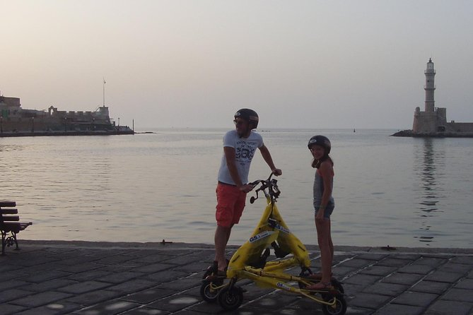 Private Tour: Trikke and Discover Cretan Art from Chania
