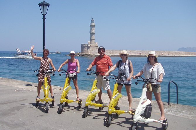 Taste of Crete with Trikke Ride