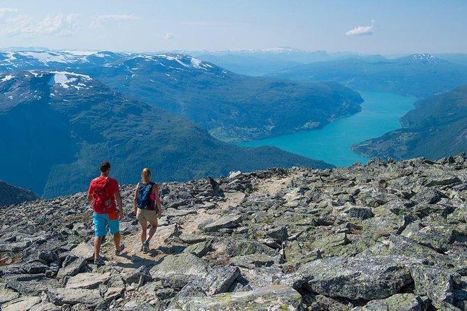 Hiking Mount Skåla from Loen