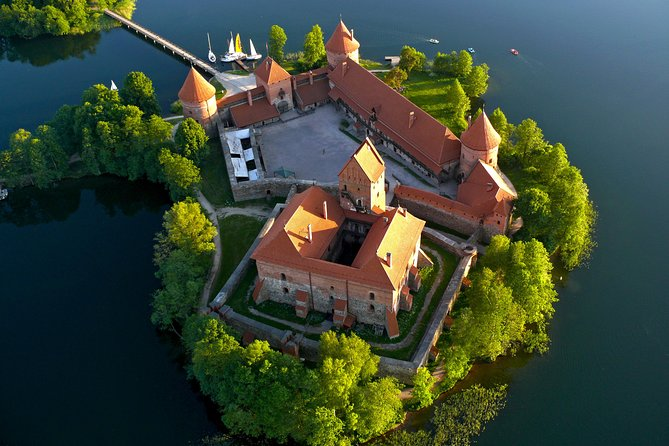 Hot Air Balloon Flight Over Trakai from Vilnius