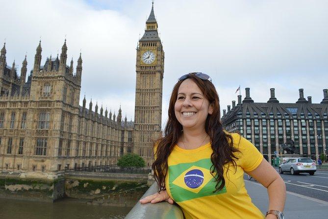 Excursão a pé particular em Londres com guia falante de português brasileiro