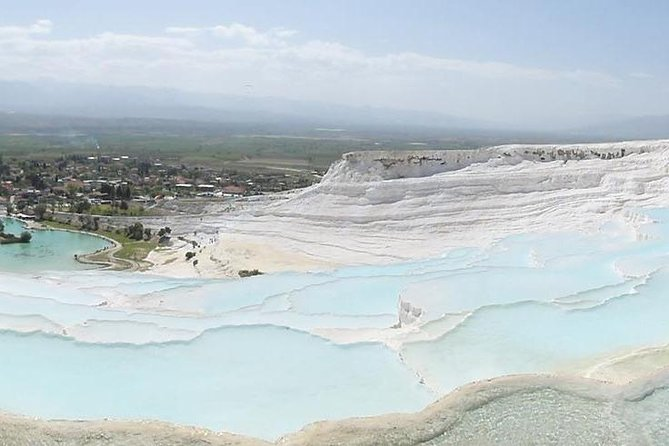 Full-Day Pamukkale Terraces and Hierapolis Ruins Tour From Kusadasi or Selcuk