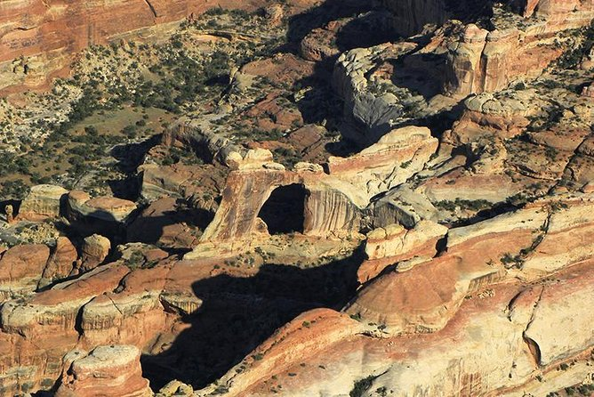 Arch formation in Canyonlands