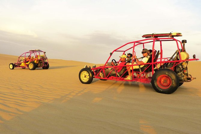 Full-Day Ballestas Islands and Huacachina Tour from Lima with Sand Buggy Ride