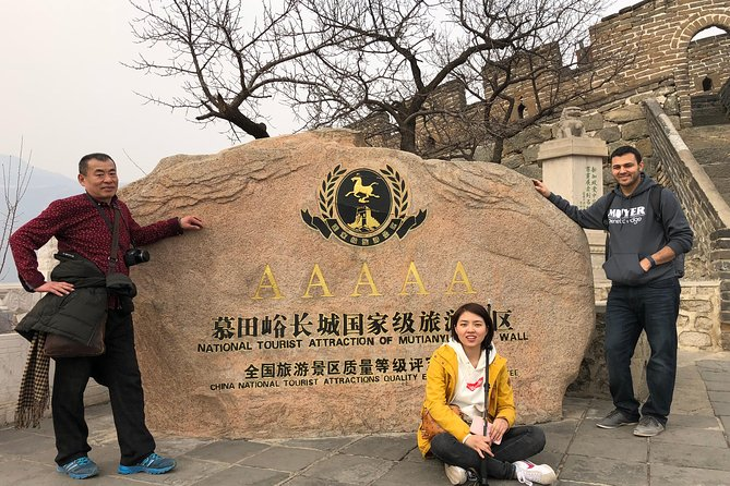 Mutianyu Great Wall Private Package Tours Include Dumpling Feast