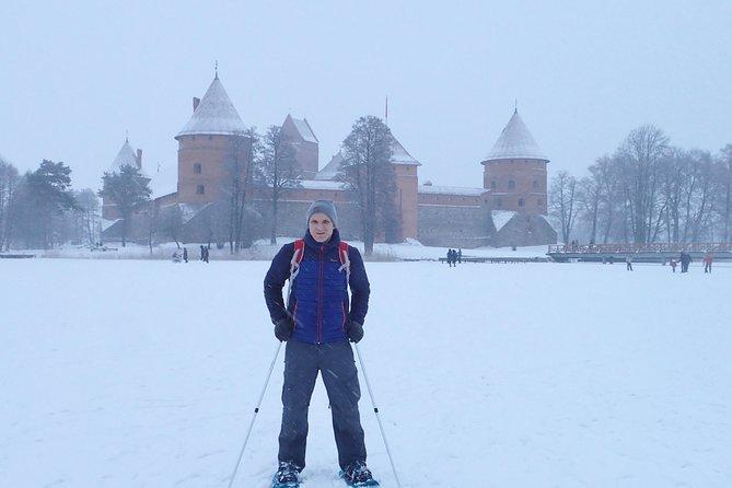 Trakai castle in winter.