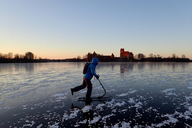 Trakai Winter Adventure with Kicksledge