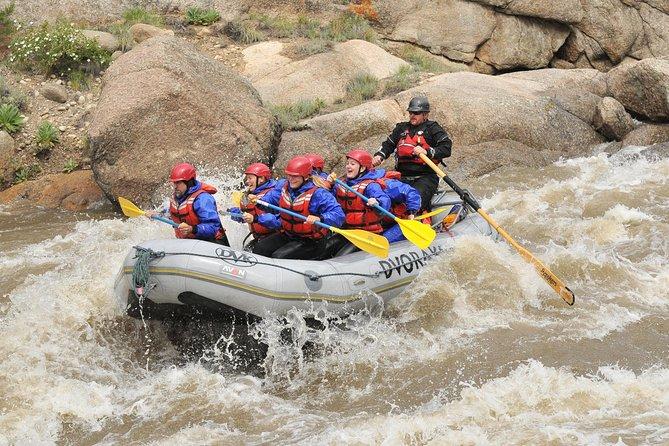 Río Arkansas de 1 día: viaje de rafting en Browns Canyon