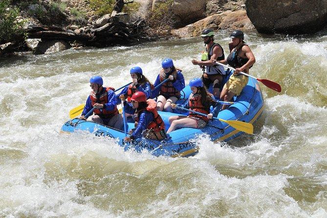 Half-Day Arkansas River - Browns Canyon Rafting Trip