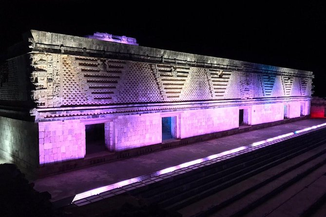 Uxmal Amazing Show Light And Sound
