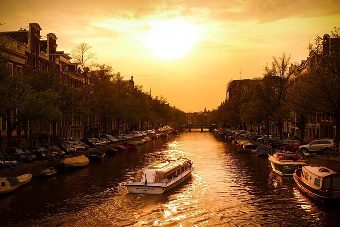 Amsterdam Canoeing Sunset tour