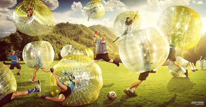 Bubble Football in Amsterdam