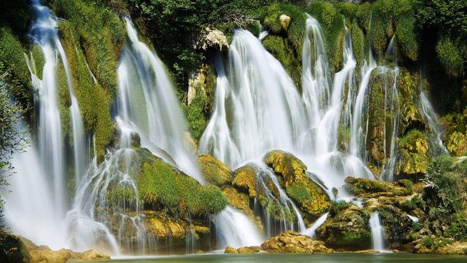 Adriatic Coast Nature: Sibenik and Krka National Park Private Day from Split