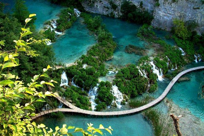 Naturlig Plitvice Lakes National Park Privat dagstur fra Split