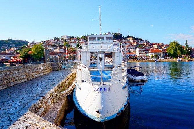 Lake Ohrid Macedonian Flag