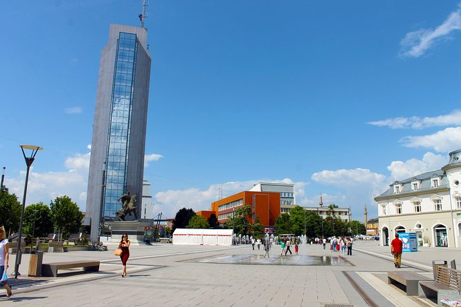 Private Full-Day Pristina Tour from Skopje