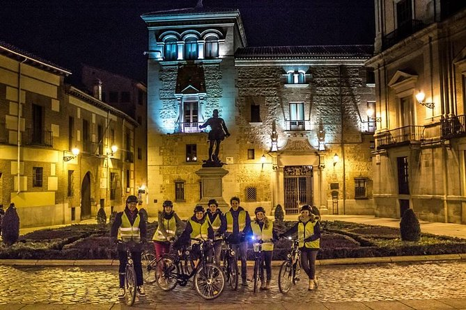 Madrid at Night Bike Guided Tour