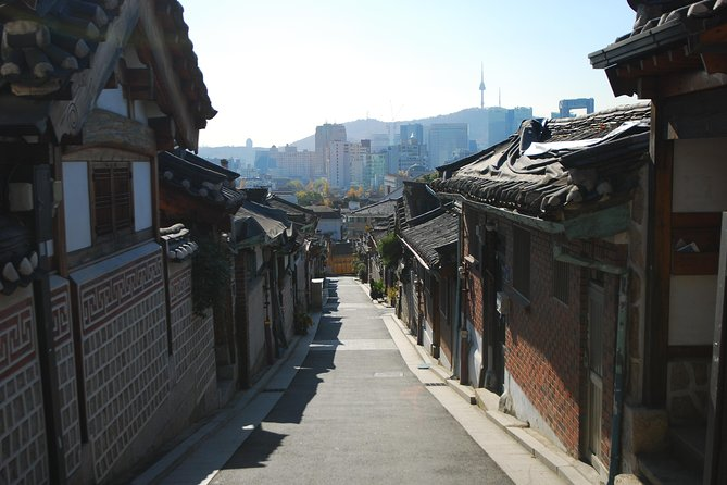 Royal Palace and North Side of Seoul with Gwangjang Market
