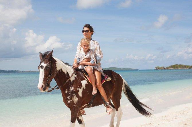 Paardrijtocht van Punta Cana naar het strand van Macao
