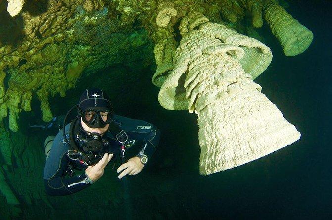 Cenotes diving Zapote and Kin Ha