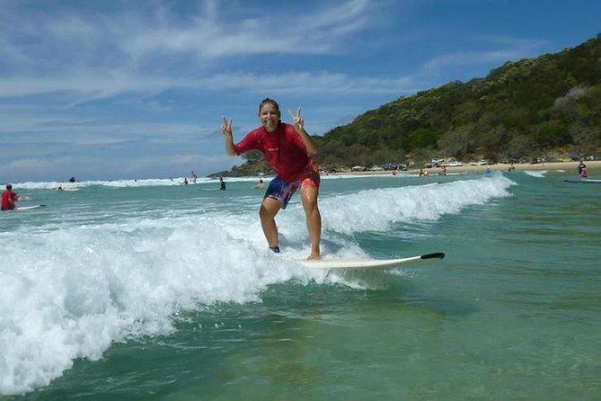 Rainbow Beach Surf School: 2 Hour Main Beach Surf Lesson