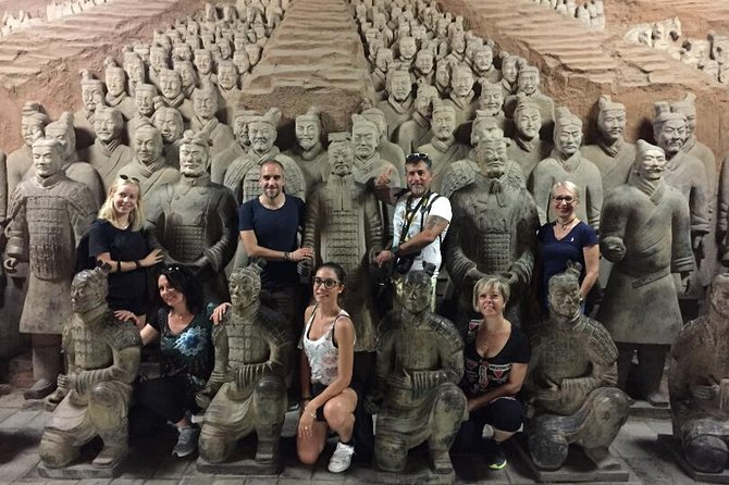 Xi'an Highlights Private Day Tour With Dumplings Dinner and Evening Show