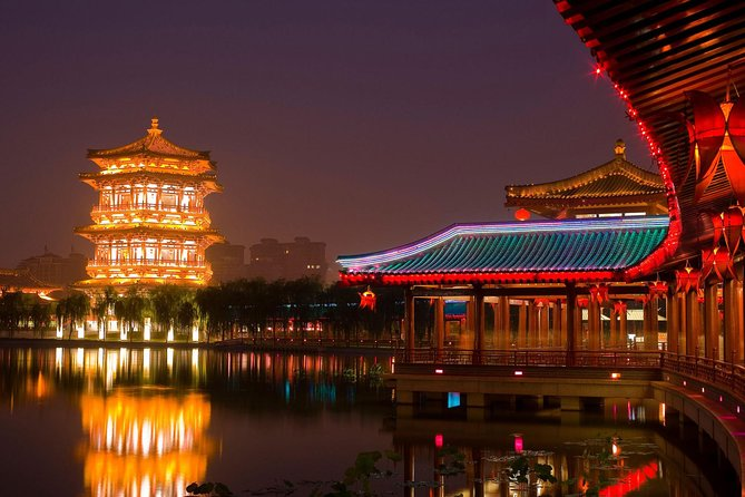 Xian Evening Tour at Tang Paradise with Private Tour Guide