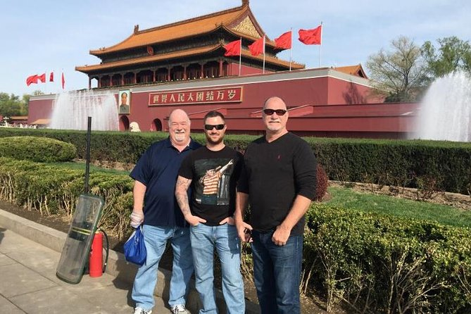 Beijing Airport to Mutianyu Great Wall & Forbidden City Tour