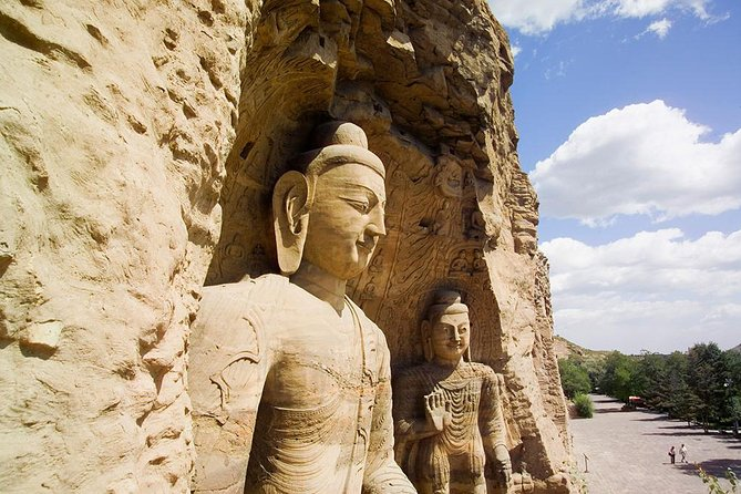 Yungang Grottoes and Hanging Monastery Private Tour From Datong