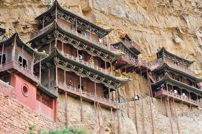 Datong Highlights Sightseeing: Hanging Monastery and Wooden Pagoda
