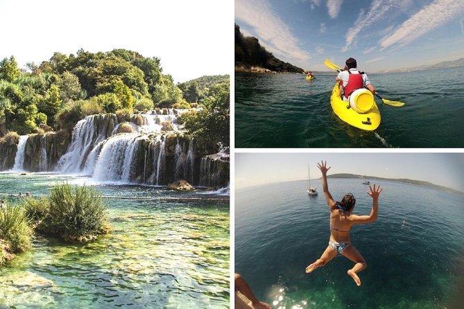 Krka Tour og Morgen Split Sea Kayaking