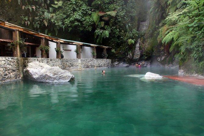 Aguas termales Fuentes Georginas desde Quetzaltenango