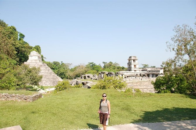 Full Day Tour: Wonders of Agua Azul Cascades and Palenque Ruins photo 1