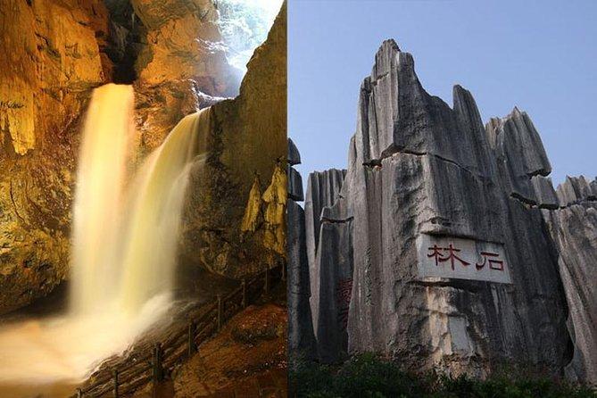 1 Tag Steinwald und Jiuxiang-Höhle mit Entenbraten - Ladung per Fahrzeug