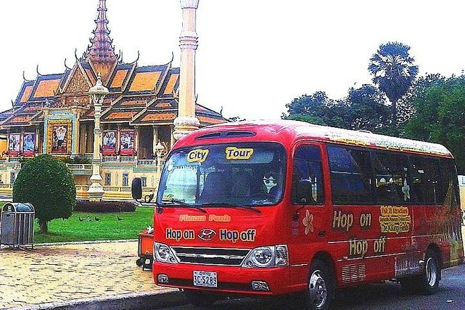 Visite de la ville de Phnom Penh