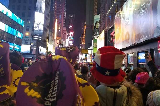 New York City Times Square New Year's Eve Celebration