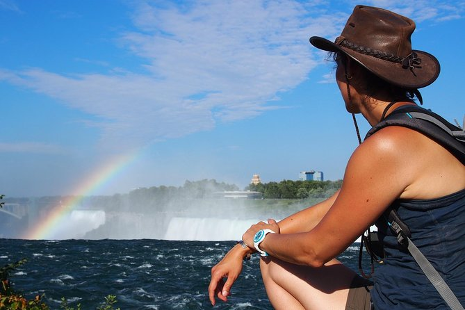 Niagara Falls Dagtrip per vliegtuig met cruise
