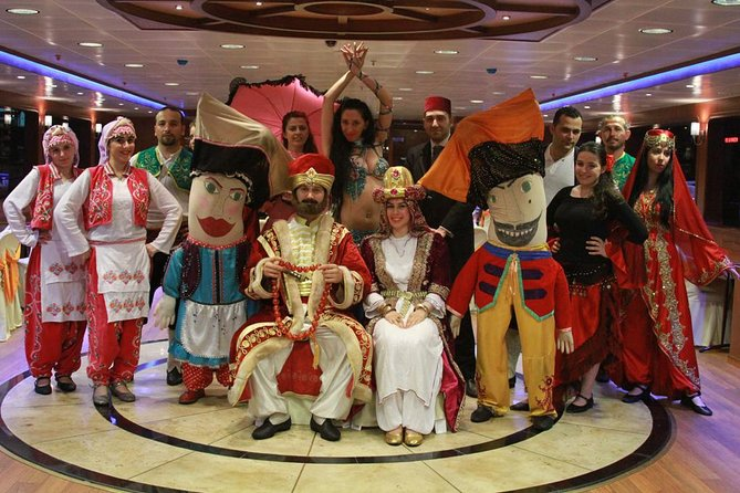 Turnatour Dinner Cruise On The Bosphorus with Traditional Show