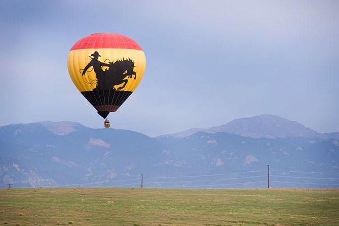 Breathtaking Colorado Springs Sunrise Hot Air Balloon Flight