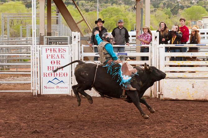 Colorado Springs Western Rodeo du mercredi