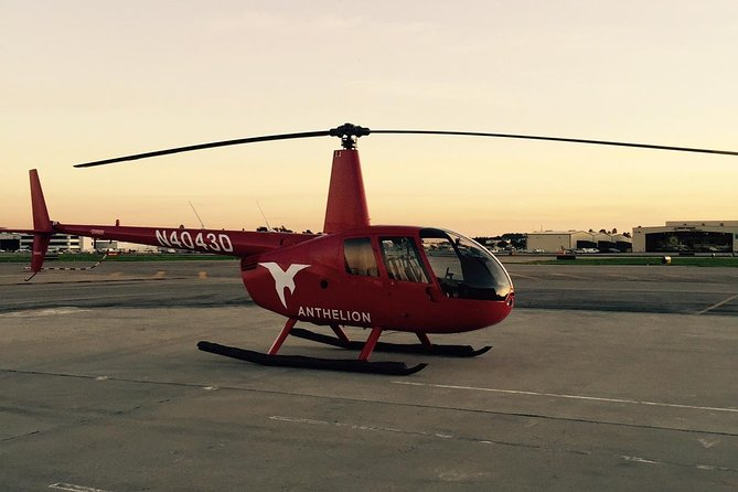 Travel in style in your own private helicopter!
