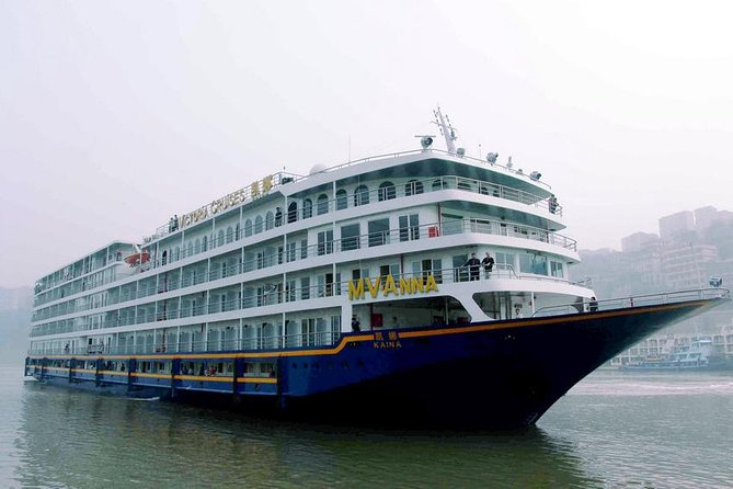 3-Night Victoria Anna Three Gorges Cruise Tour From Chongqing to Yichang