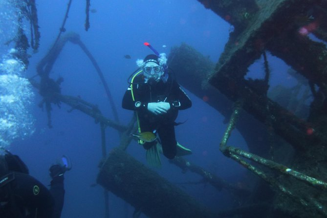 SSI Wreck Diving Specialty in Tenerife