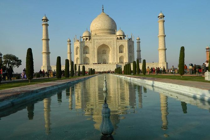 Taj Mahal e Agra Fort: passeio de dia guiado de Nova Deli
