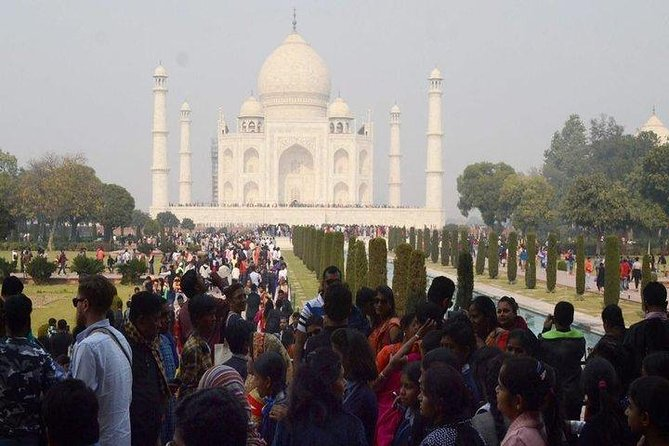 Book Taj Mahal, Agra Fort Admission Tickets & Tour Guide