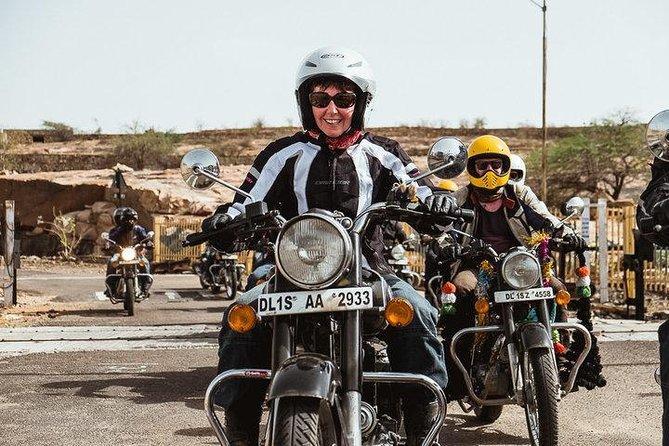 Agra tour by Royal Enfield motorbike